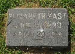 Elizabeth Betsy <i>Barger</i> Kast