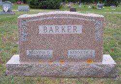 Melvina Ruth <i>Groh</i> Barker