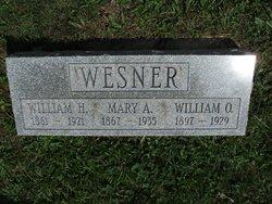 Mary A. <i>Frederick</i> Wesner