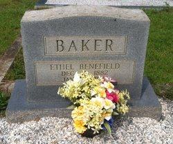 Ethel <i>Benefield</i> Baker