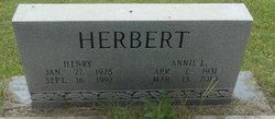 Annie L Herbert