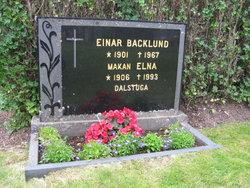 Signe Elna <i>Eriksson</i> Backlund