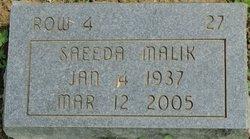 Saeeda Malik