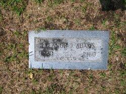 Eleanor J Adams