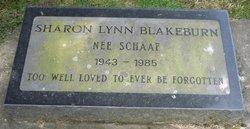 Sharon Lynn <i>Schaaf</i> Blakeburn