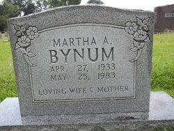 Martha A. Bynum
