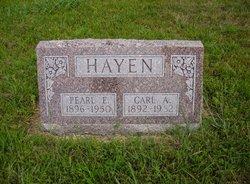 Pearl Emma <i>Davis</i> Hayen