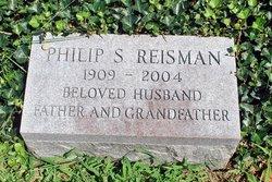 Dr Philip S. Reisman