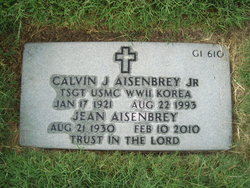 Calvin John Aisenbrey, Jr