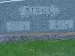 Mary C <i>Walker</i> Birge