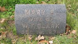 Mary E <i>Harvey</i> Clark