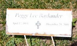 Peggy Lee <i>Halterman</i> Baylander