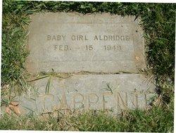 Baby Girl Aldridge
