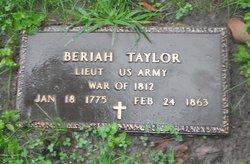 Beriah Taylor
