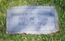 Rocklyn D Adamson