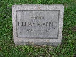 Lillian <i>Burns</i> Apple