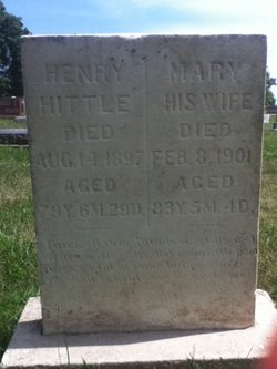Mary Polly <i>Bussell</i> Hittle