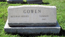 Keturah <i>Reeves</i> Gowen