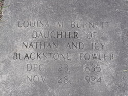 Louisa Marian <i>Fowler</i> Burnett