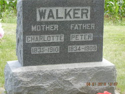 Charlotte Lottie <i>Jennings</i> Walker