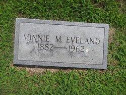 Minnie Maude <i>Bell</i> Eveland