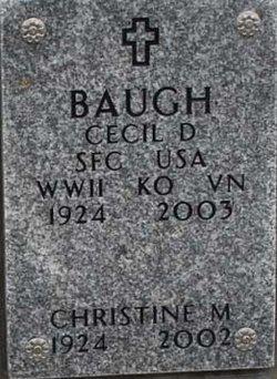 Cecil Dwight Baugh