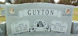 Frances Marie <i>Hairston</i> Guyton