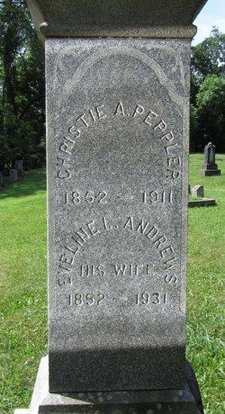Eveline Lucinda <i>Andrews</i> Peppler