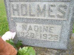 Mary Madine Holmes