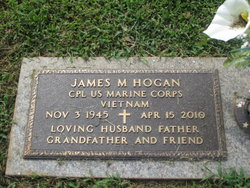 Corp James Michael Mike Hogan, Sr