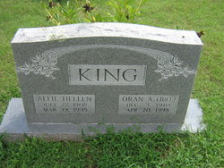 Oran A Bill King