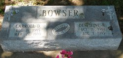 Carroll Dayton Pinkie Bowser