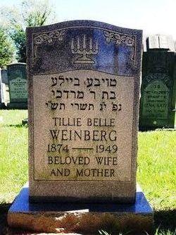 Tillie Belle <i>Hyatt</i> Weinberg