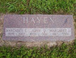 Margaret Delana <i>Manderson</i> Hayen