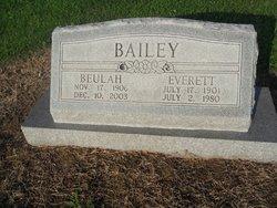 Beulah May <i>Funderburk</i> Bailey