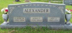 Agnes Claudine <i>Baird</i> Alexander