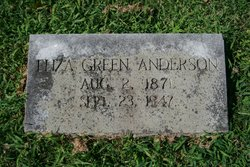 Eliza <i>Green</i> Anderson