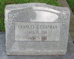 Frances L <i>Jordan</i> Chapman