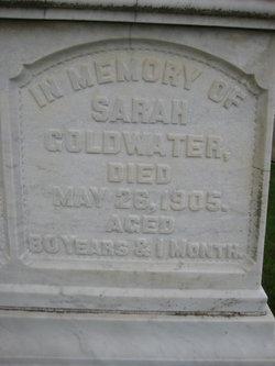 Sarah <i>Nathan</i> Goldwater