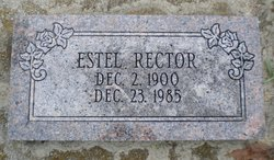 Estella Estel <i>Gray</i> Rector