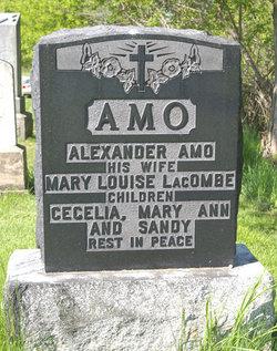 Mary Louise <i>Lacombe</i> Amo