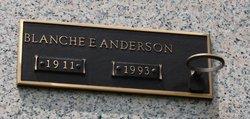 Blanche E Anderson