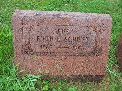 Edith E. <i>Wells</i> Schrift