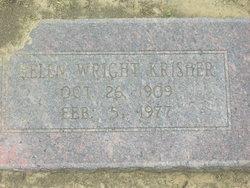 Helen <i>Wright</i> Krisher