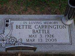 Bettie Carrington Battle
