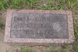 Emma <i>Mapes</i> Davidson-Hubbard