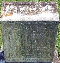 Martha E. <i>Dixon</i> Allen