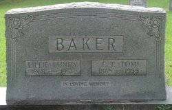 Lillie <i>Lundy</i> Baker