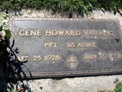 Pvt Gene Howard Varang