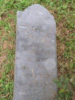 Mary E. <i>Finley</i> Pennington